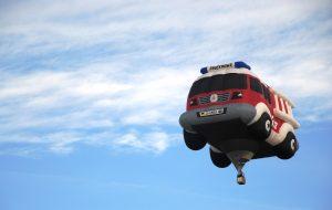 Kindersprüche fliegende Autos