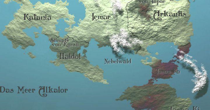 Kampf um Bendar - Fantasygeschichte von Jonathan Dilas