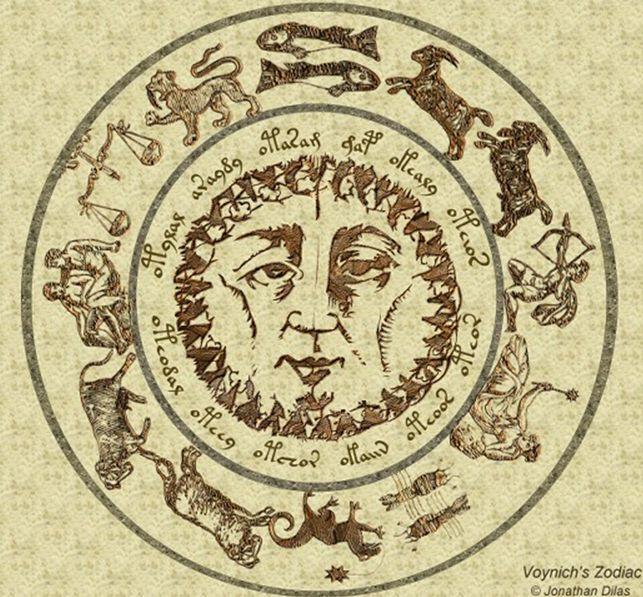 voynich zodiac